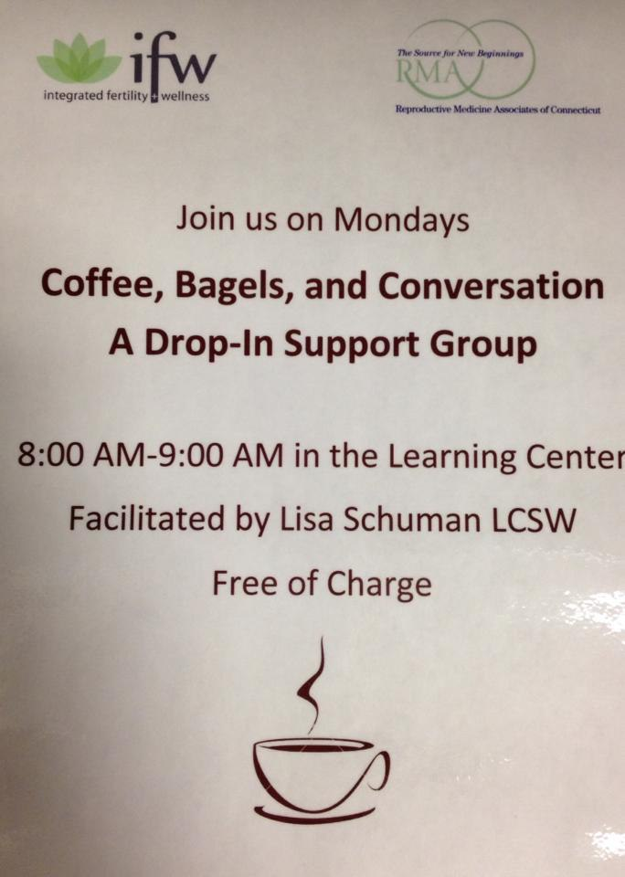 Infertility Support - Informal Intro. to Lisa Schuman, LCSW - I'm a Fan!