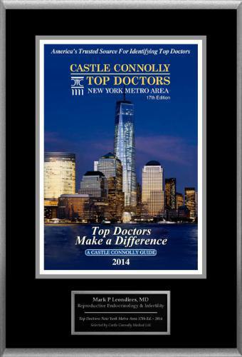 castle connolly top doctors award