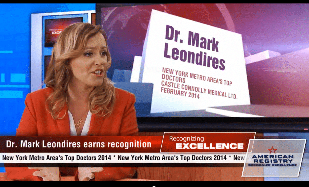 Dr. Leondires, Reproductive Endocrinology and Infertility, Named Top Doctor