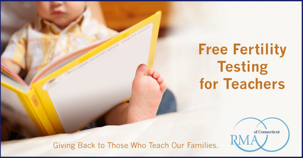 Free CT Fertility Testing for Teachers Continues This Summer