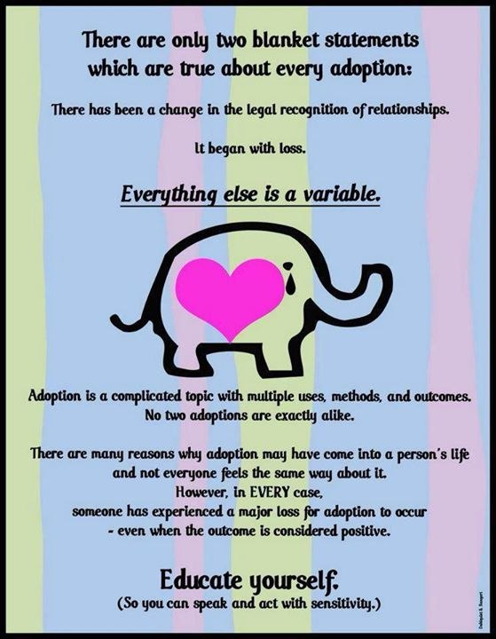 The Truth About Adoption - National Adoption Month
