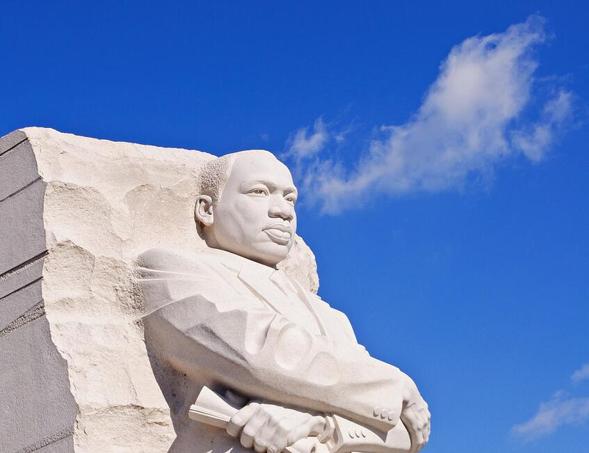 Martin Luther King, Jr.   Peaceful Warrior