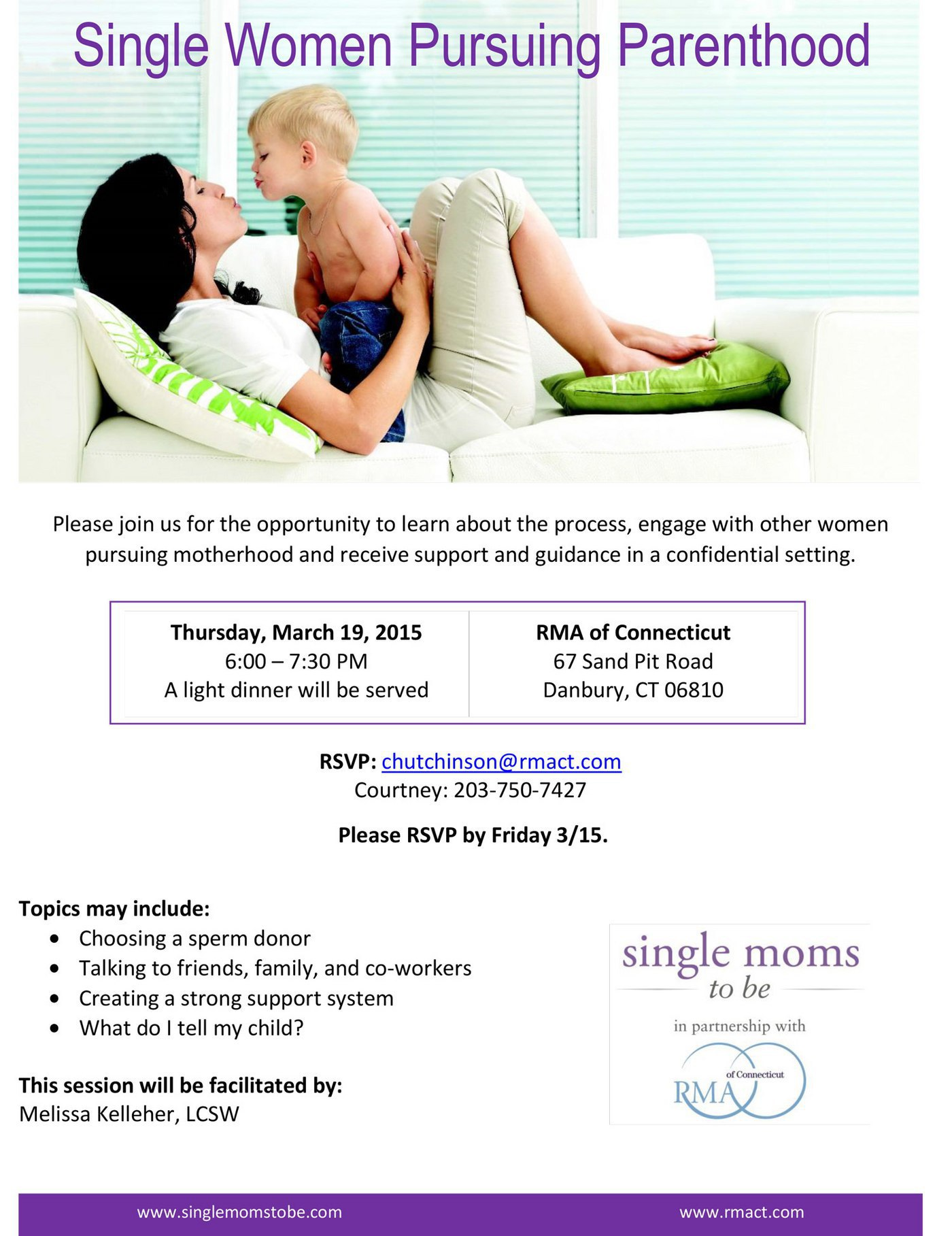 Single Women Pursuing Parenthood Event