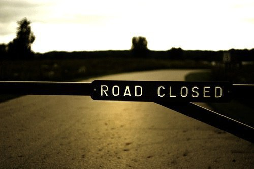 Signs. Stop. Yield. Detour. Road Closed. Infertility?