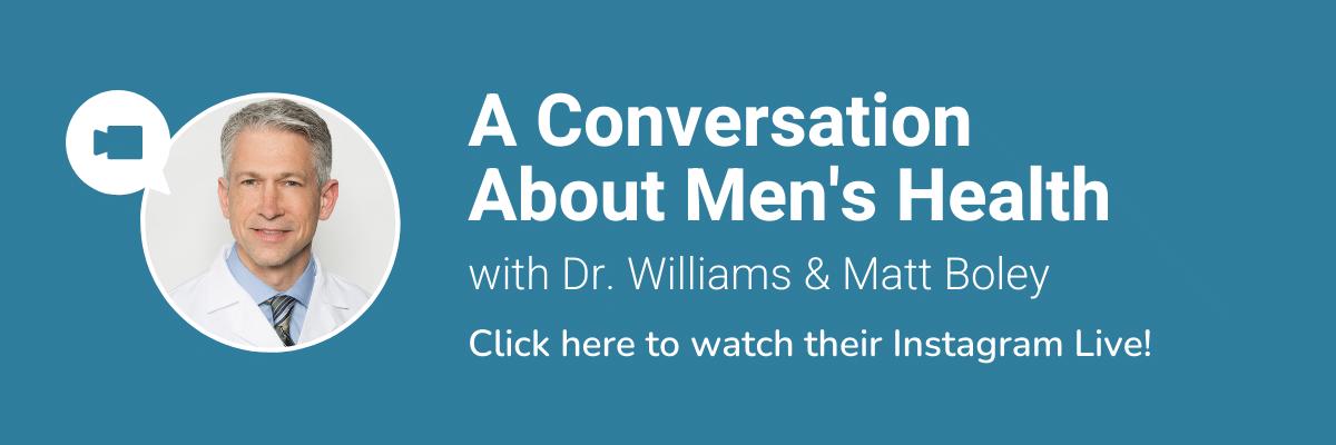 Men's Health Instagram Live