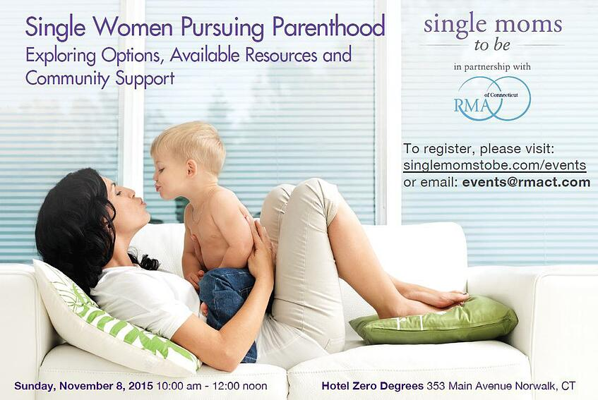 Single Mom By Choice Event in Norwalk CT