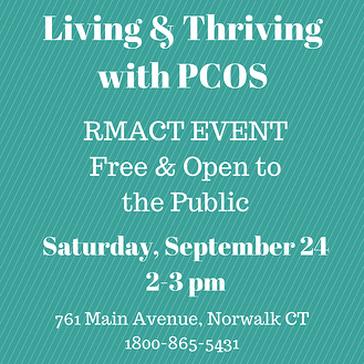 PCOS Awareness Event