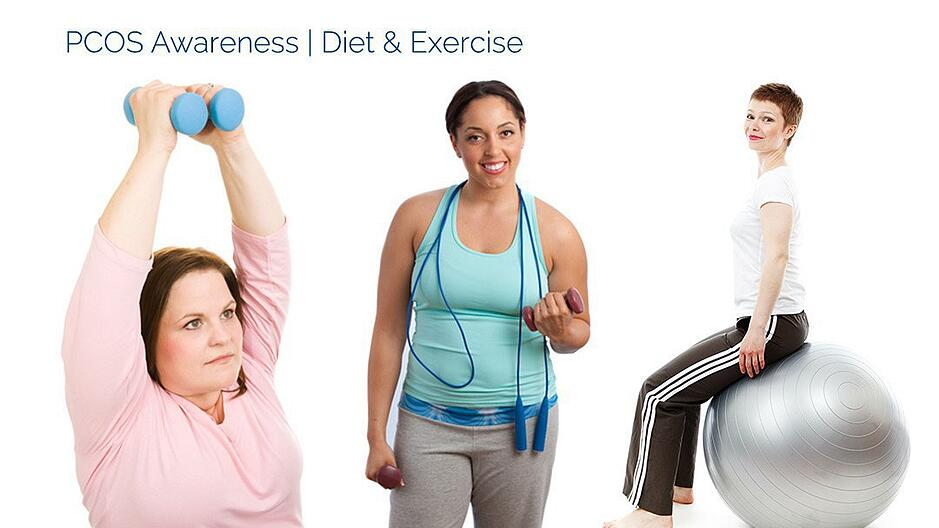 Treating PCOS with Diet & Exercise